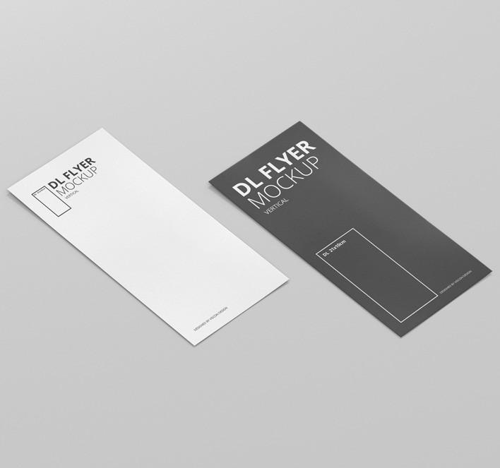 DL Vertical Flyer Mock-Up - Premium and Free Mockups for ...