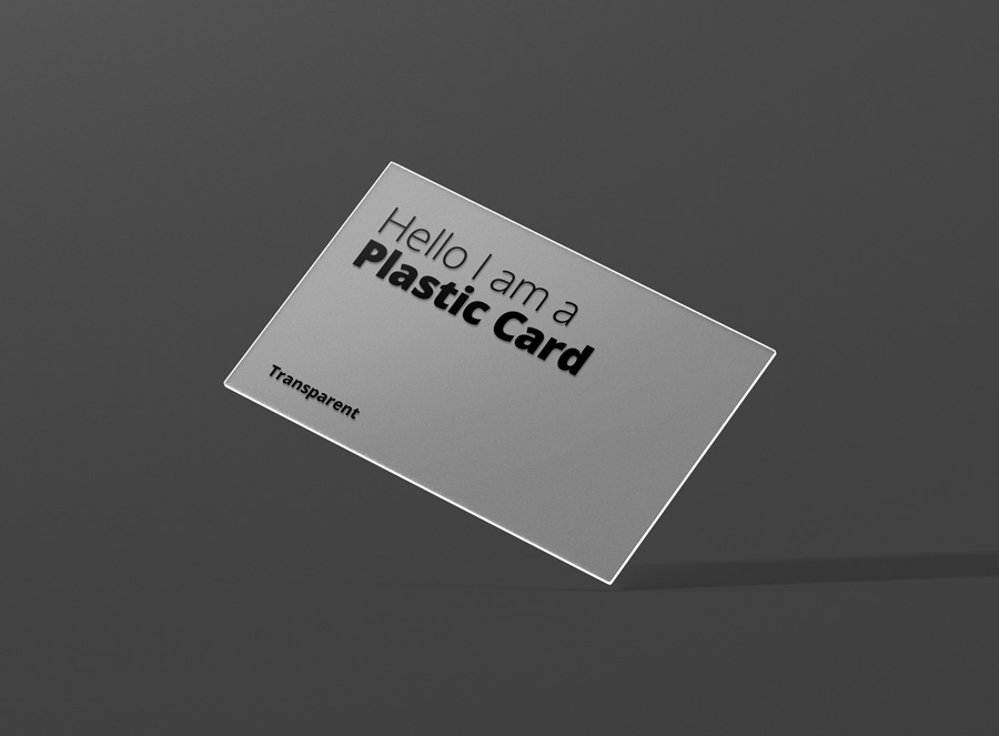 Transpa Business Card Mockup