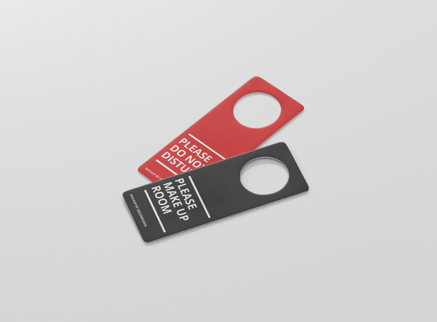 Door Hanger Mock Up Premium And Free Mockups For Your