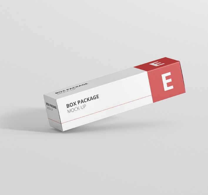 package box mock up long rectangle premium and free mockups for