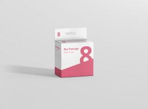 Slim Square Box Mockup