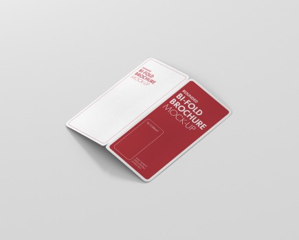 Dl Bifold Brochure Mockup Rectangle