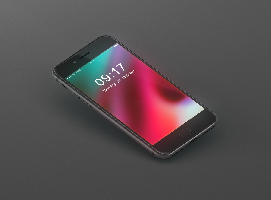 Iphone 8 Mockup Freebie