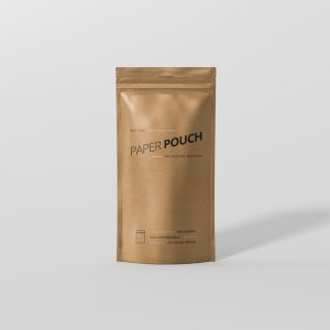 Paper Pouch Bag Mockup Big Size