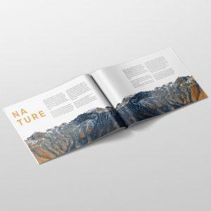 Magazine Mockup A4 Landscape