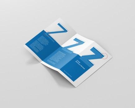DL Z-Fold Brochure Mockup