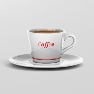 Coffee Cup Mockup Cone Shape