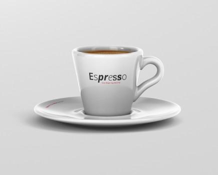 Espresso Cup Mockup Cone Shape