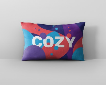 Pillow Mockup Rectangle