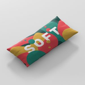 Pillow Mockup Long Rectangle