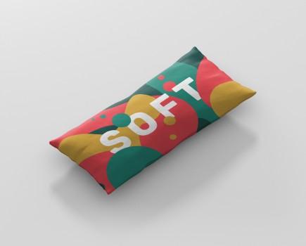 Pillow Mockup Long Rectangle