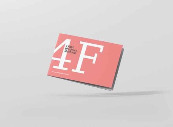 01_4_fold_brochure_mockup_a4_a5_landscape_frontview