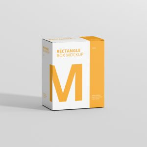Box Mockup High Rectangle Big Size