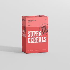 Cereals Box Mockup Big Size