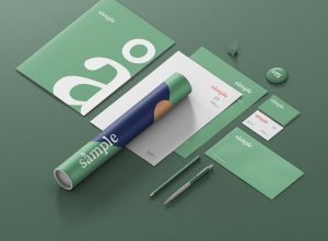 Stationery Branding Mockup Creator