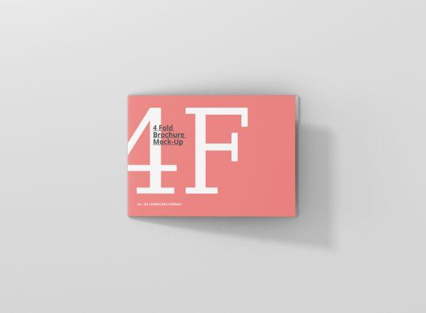 08_4_fold_brochure_mockup_a4_a5_landscape_top