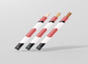 Chopsticks Mockup