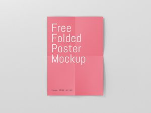 Poster Mockup Free Download