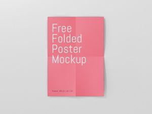 Poster Mockup Free Download
