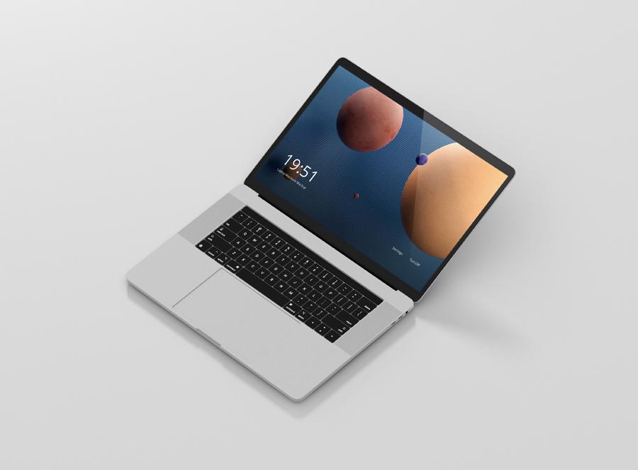 laptop screen mockup